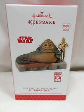 2013 Hallmark Keepsake Ornament Star Wars At Jabba's Mercy ROTJ Magic