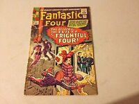 FANTASTIC FOUR #36 Marvel Silver Age comic 1st Appearance MEDUSA Low Grade #BB