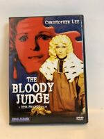 THE BLOODY JUDGE rare US DVD CULT Jess Franco Horror occult witch exploitation