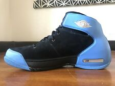 ca28b203b87691 2005 Jordan Carmelo 1.5 Black Mtlc Slvr-Uni Blue Size 11 DS Melo 308265