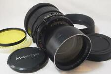 "[EXC++++] Mamiya Sekor 250mm f/4.5 Lens For RB67 ""FULLY WORKS"" w/Hood,Caps,Filt"
