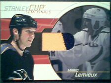 MARIO LEMIEUX   AUTHENTIC PIECE OF A GAME-USED JERSEY /80  SP