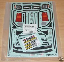 Tamiya 58614 Suzuki Jimny JB23/MF-01X/MF01x, 9495858/19495858 calcomanías/Pegatinas