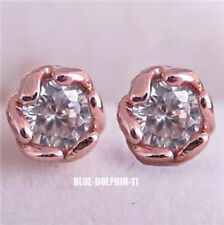 Rose Gold Handcrafted Earrings 9k Metal Purity