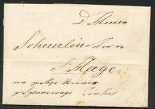 BRIEF AMSTERDAM 26 MAART 1843 - S'HAGE,GESCHR.EEN PAKJE ANNEX PER SPOOR-  Zi147