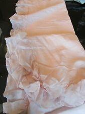 1 Pottery Barn Kids linen trim Panel drape dusty blush 44 63 New wo tag
