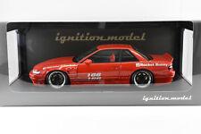 Nissan Silvia S13 V1 - Rocket Bunny - Red- 1:18 Scale Ignition Models