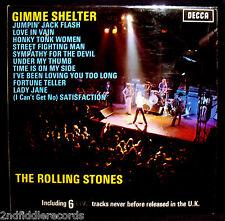 THE ROLLING STONES-GIMME SHELTER-Near Mint Misprint UK Import Album-#SKL 5101