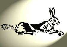 Shabby Chic Stencil Artistic Hare Rabbit Rustic A4 297x210mm wall Furniture