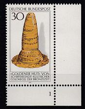Bund Abart MiNr. 943 I (1977) Eckrand u. rechts, FNr.1,, postfrisch