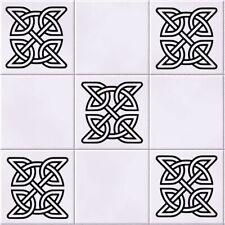 Celtic knot Tile Wall Art Sticker Pack of 5 Vinyl Decal Stencil