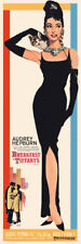 Breakfast at Tiffany's Movie Poster Door Poster Audrey Hepburn 21x62