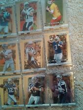 2013 Panini Prizm Lot Of Nine Quarterback Cards