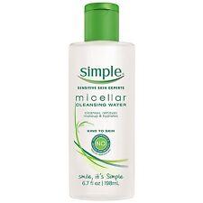 Simple Kind to Skin Cleansing Water, Micellar 6.7 oz