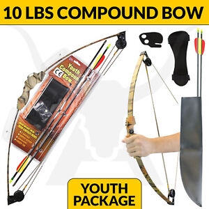 10LBS YOUTH COMPOUND BOW - CAMO