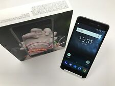 Nokia 6 BLACK TA-1003 (FACTORY UNLOCKED) GOOGLE PLAY 64GB 4GB RAM Dual Sim 7.0