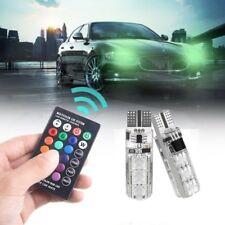 Newest T10 5050 Remote Control Car Led Bulb 6 Smd Multicolor W5w 501 Side Light