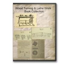 Wood Turning Woodwork Lathe Work Pattern Making Woodworking - 22 Books CD - B509