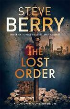 LOST ORDER, THE - Steve Berry (Hardcover, 2017, Free Postage)