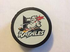 Defunct Quebec Rafales IHL Hockey Puck Official Czech Republic 1996-98