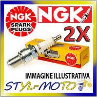 KIT 2 CANDELE NGK SPARK PLUG BP6ES MOTO GUZZI 1000 SP III 1000 1992