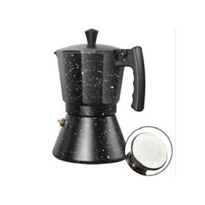 Moka Pot Stove Top Italian Coffee Maker 3/6 cups Percolator Mocha Pot Coffee Pot