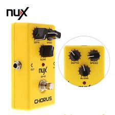 NUX ch-3 Coro Guitarra Eléctrica Efecto Pedal True Bypass