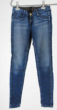 Bleulab Jeans W 27 Wendejeans blau - braun curve legging