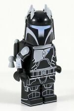 Lego Custom Mandalorian SUPER COMMANDO SHADOW Minifig -Full Body Printing! CAC