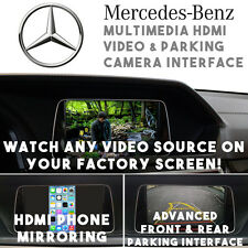 Mercedes 2011-14 NTG 4.5 Multimedia HDMI Video Interface + Parking Camera System