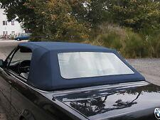 BMW E30  CABRIO VERDECK E 30 CABRIOVERDECK STOFF BLAU NEU