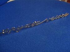 Schriftzug spyder veloce alfa romeo scritta sign badge spider