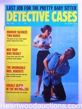 """Detective Cases"" May 1966"