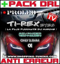 KIT BANDE LED TI-REX FEUX DE JOUR DIURNE+DRL+W5W ANTI ERREUR BMW SERIE 3 E46 328