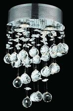 New! Crystal Wall Sconces Cosmos Polished Chrome 12X16X6