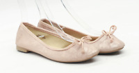 New Look Womens UK Size 6 Beige Ballerina Shoes