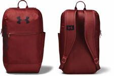 Under Armour Unisex Back Pack Rucksack  Travel Bag Burgundy