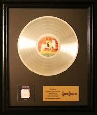 Led Zeppelin The Song Remains The Same LP Platinum Non RIAA Record Award