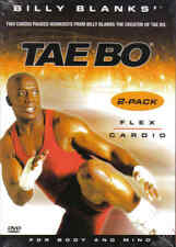 Billy Blanks Tae Bo EXERCISE DVD Flex and Cardio - 2 Workouts