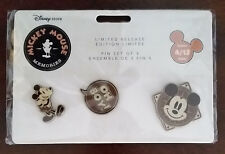 Disney Store Mickey Mouse Memories Pin Set 2018 April 1940s aviator IN HAND