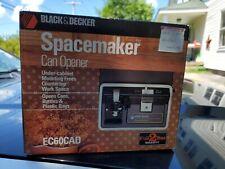Black & Decker Spacemaker Electric Can Opener Ec60Cad. Brand New