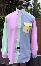 Polo Ralph Lauren Mens Classic Fit Oxford Fun Shirt Medium