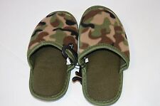 CHILDREN'S NEW SM (11/12) SOFT SLIDE-ON CAMOUFLAGE SLIPPER/SHOES -FREE SHIPPING-