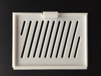 New Vented Amiga 600 White Trapdoor Memory Bottom Cover High Quality #682