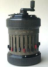 CURTA II Rechenmaschine Kalkulator 530826 Curt Herzstark Contina Mauren~Sept1962
