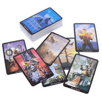 78 Cards Witch Tarot Deck Future Fate Indicator Forecasting Card Gift Tablega.ha