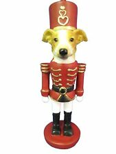 Greyhound Tan Dog Soldier Holiday NUTCRACKER ORNAMENT