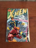 X-MEN #1 (Oct 1991) Jim Lee GATEFOLD COVER Collector's ~ Omega Red