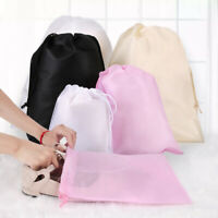 Portable Waterproof Drawstring Storage Bag Cosmetic Travel Organizer Pouch Bag