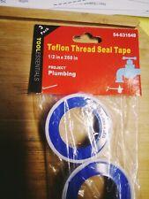 "New listing Plumbers Thread Pipe White Teflon Thread Tape 1/2"" X 260 in"